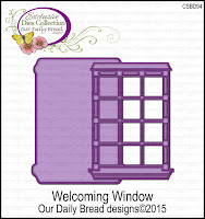 Our Daily Bread designs Custom Welcoming Window Dies