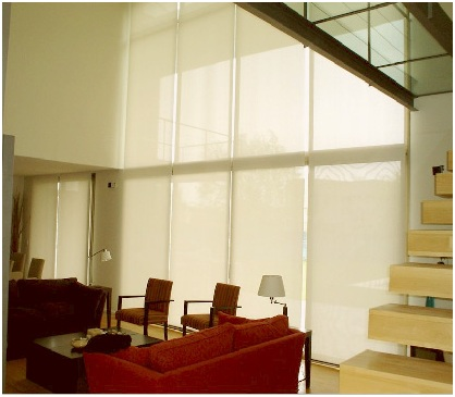 Curtains design ideas and tips for double height ceilings