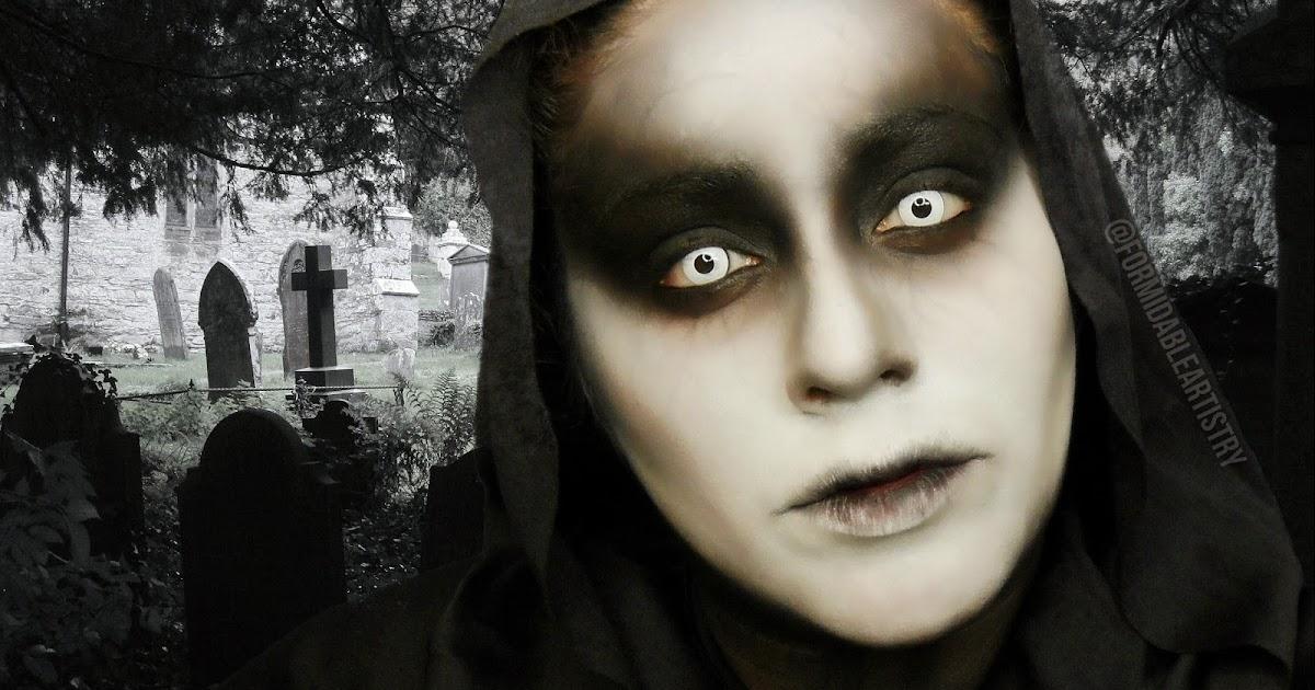 FormidableArtistry Grim Reaper | Halloween Makeup