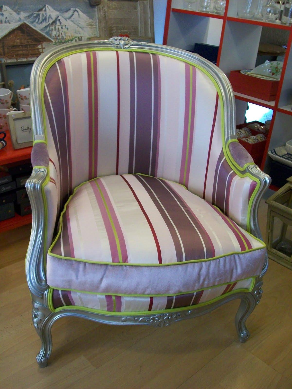 L 39 fauteuil bergere for Housse de fauteuil bergere