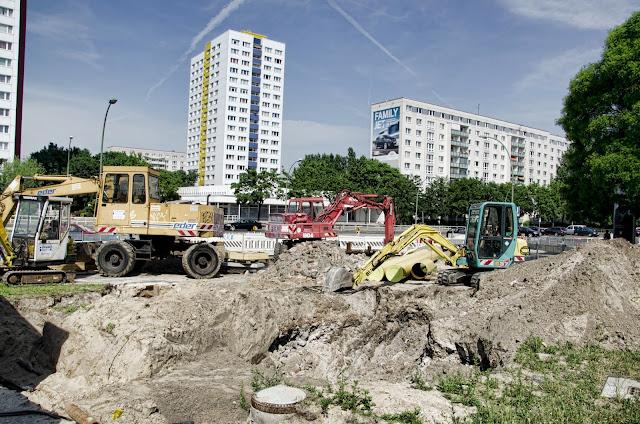 Baustelle Alexanderstraße 61, 10179 Berlin, 18.06.2013