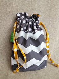 Drawstring Ditty Bag