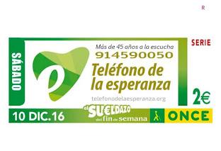 El Teléfono de la Esperanza con la ONCE