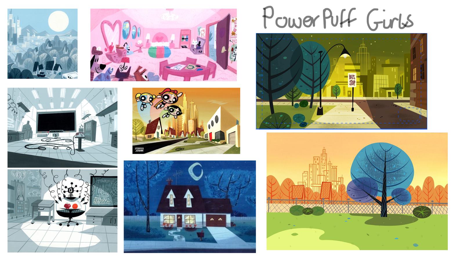 Powerpuff Girls Bedroom Animation Principles May 2014