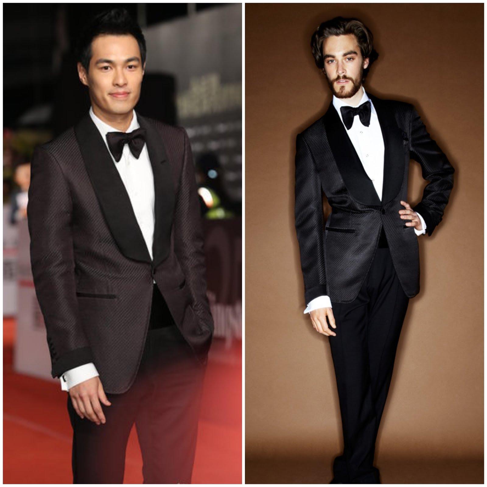 00O00 London Menswear Blog Celebrity Style Tony Yang in Tom Ford - 49th Golden Horse Awards [杨佑宁盛装出席第49届台湾电影金马奖颁奖礼, 身穿汤姆福特晚礼服]