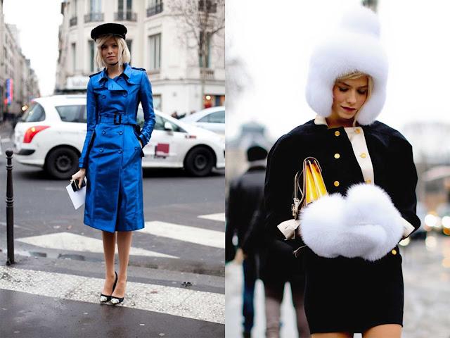 Elena Perminova Semana de la Alta Costura París 2013