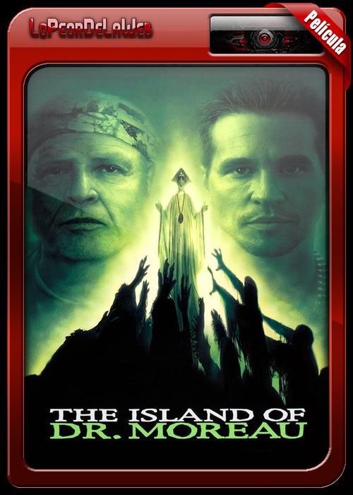 La Isla Del Dr. Moreau (1996) [BrRip-720p-Mega]