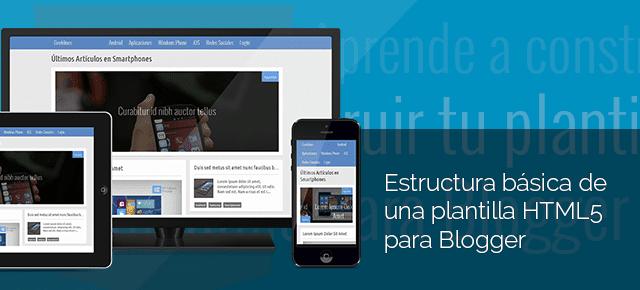 blogger html5, Blogger template HTML5