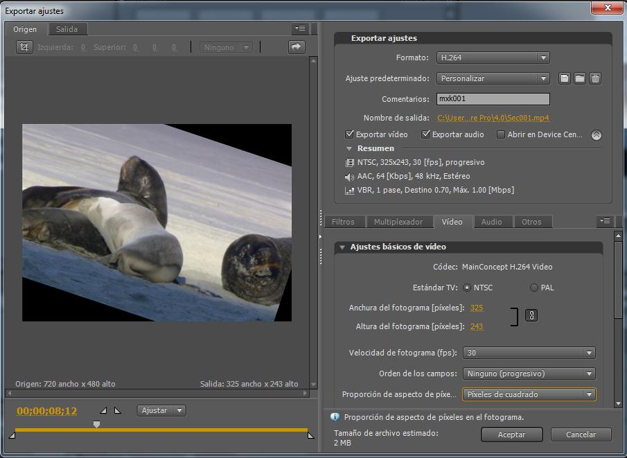 Exportación y uso compartido de sus vídeos - Adobe Inc.