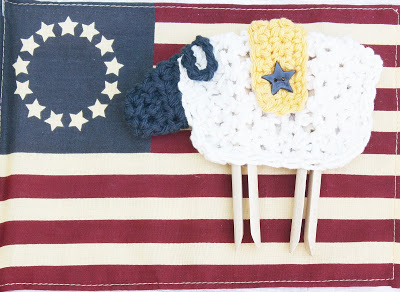 Clothespin Leg Sheep Pattern