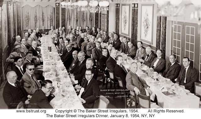 The 1954 BSI Dinner group photo