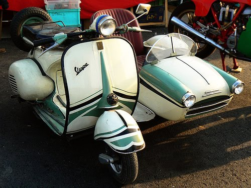 Vespa Indonesia Sidecar 6