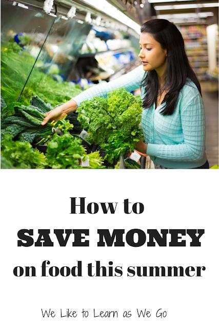 groceries, food, summer