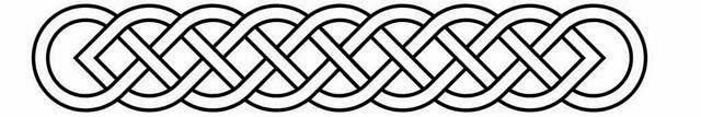 Armband Celtic tattoo stencil