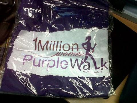 1 Million Women Purple Walk