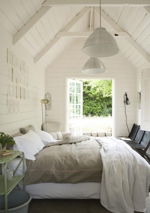 Cornelias hus: inspirasjon til soverommet
