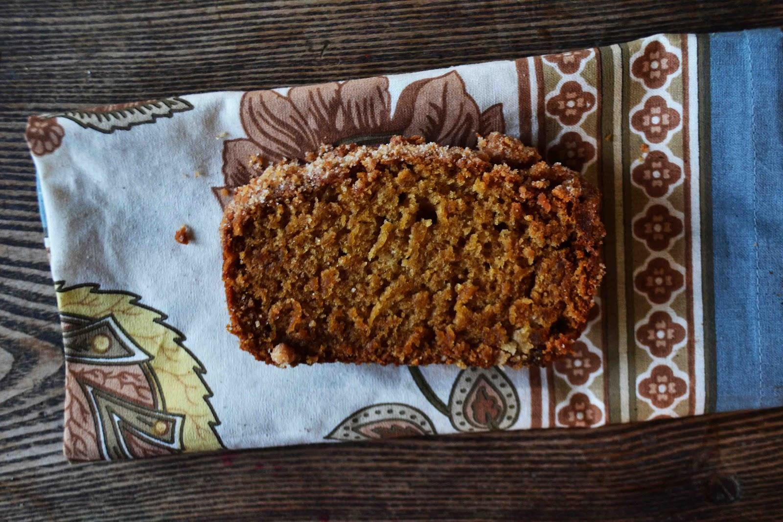 Baked New England : Vegan Snickerdoodle Pumpkin Bread