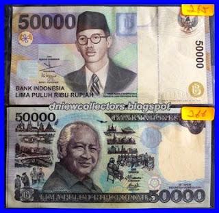 Indonesia Suharto RHP50000 1995