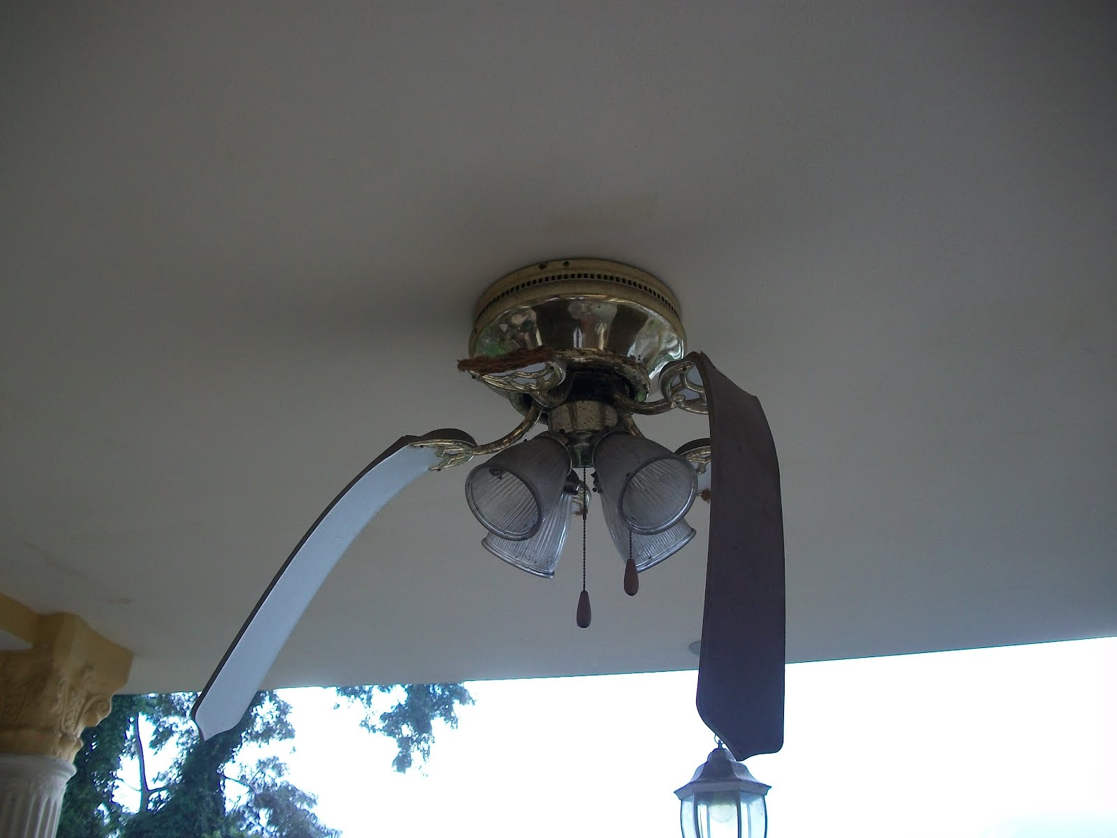 Elder Michael Cevering A Ceiling Fan Destroyed By The