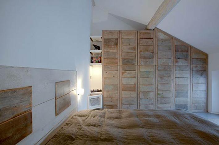 Hom architetti riuso riciclo recupero rifaccio - Mobili con legno di recupero ...
