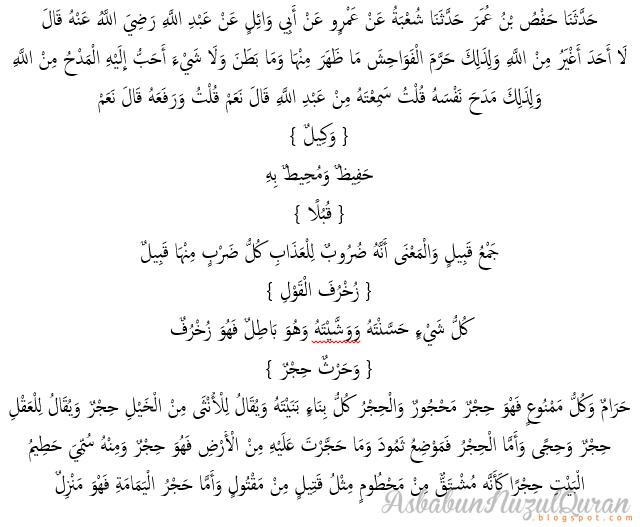 Quran Surat al An'am ayat 102|Penjelasan