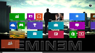 Eminem Windows 8 Theme