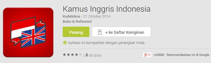 Download Kamus Bahasa Inggris Online dan Offline di HP Android