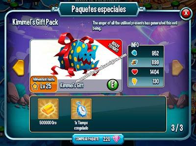 imagen de la oferta especial del monster kimmels gift