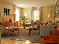 50s Living Room Colors