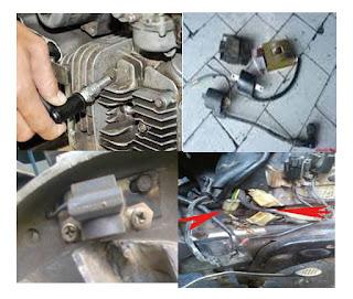 "Penyebab Masalah Pengapian Pada Motor ""Tidak Ada Bunga Api Atau Terlalu Cepat"""