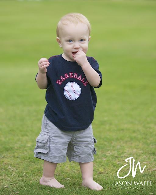 Rangers Ballpark Family Portraits