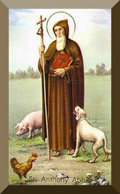Saint Anthony the Abbot (aka Saint Anthony the Great)