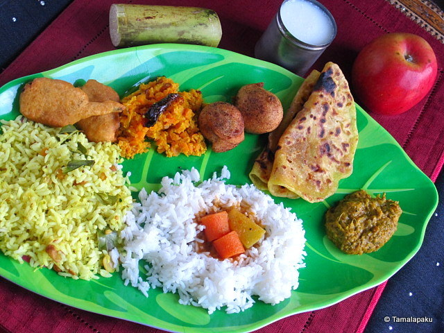 Ugadi Festival Thali