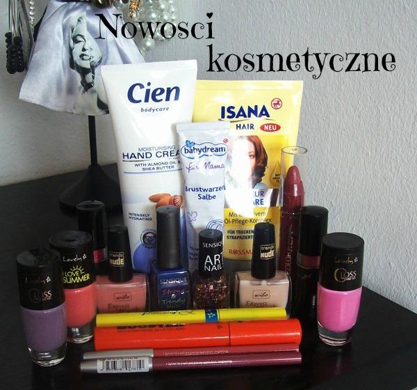 Zakupy z promocji Natury oraz Rossmanna i nie tylko :-)