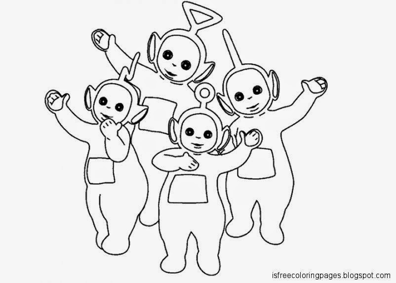 teletubbies coloring pages Teletubbies Coloring Pages | Free Coloring Pages teletubbies coloring pages