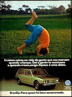 propaganda Brasilia - 1979