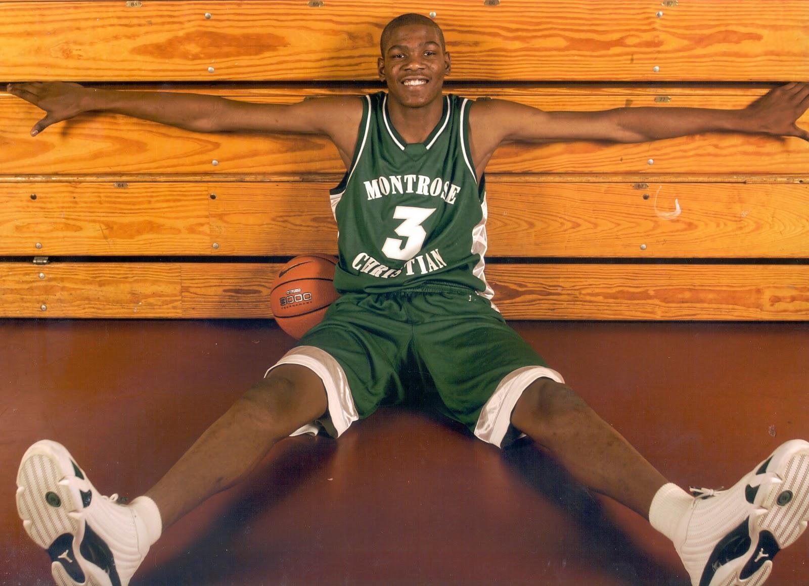 Kevin Durant High School Dunk