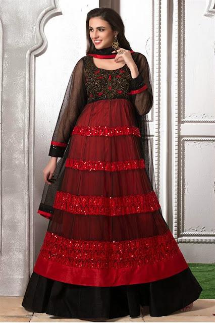 Impressive Look Latest Semi Stitched Anarkali Suits
