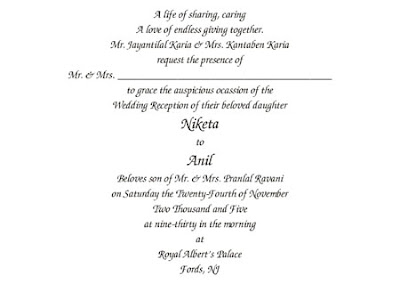 Ideas For Wedding Invitation Wording Christian : Wedding invitations ideas: Christian Wedding Invitation Card Wording ...
