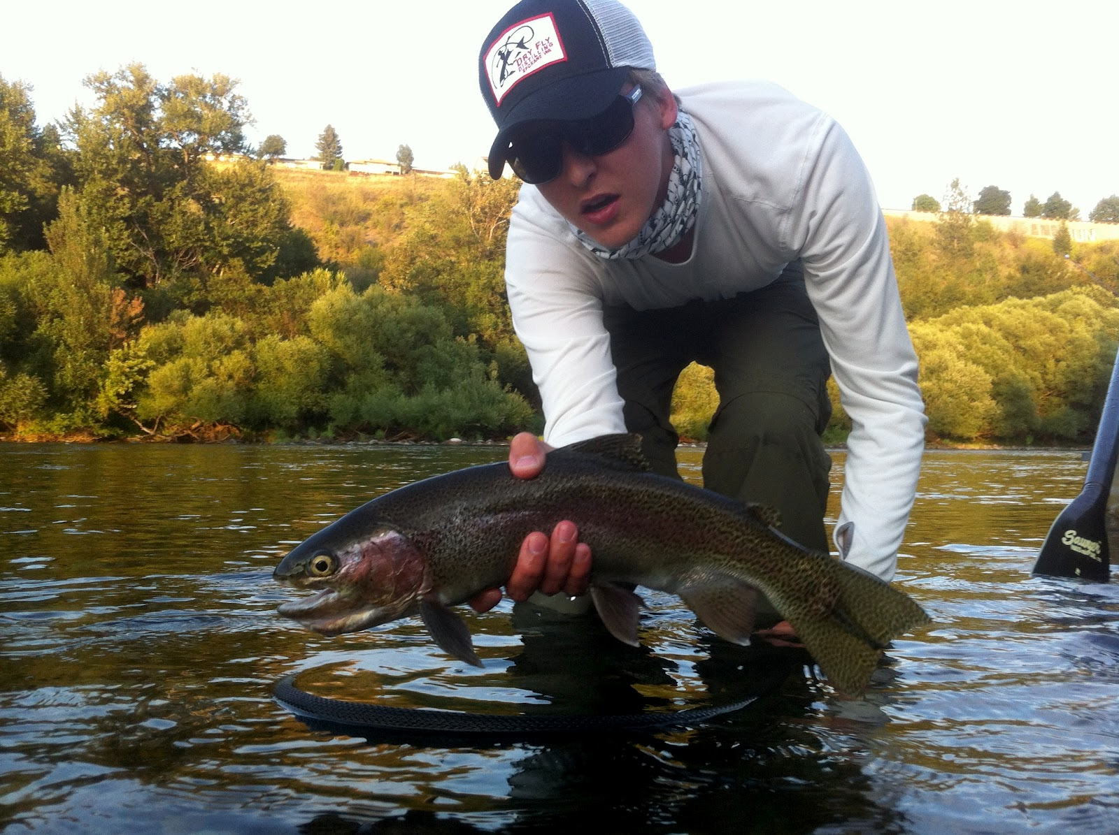 Skinny waders a fly fishing blog july 2012 for Spokane river fishing