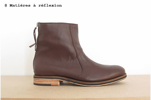 Bottines Craie Marron