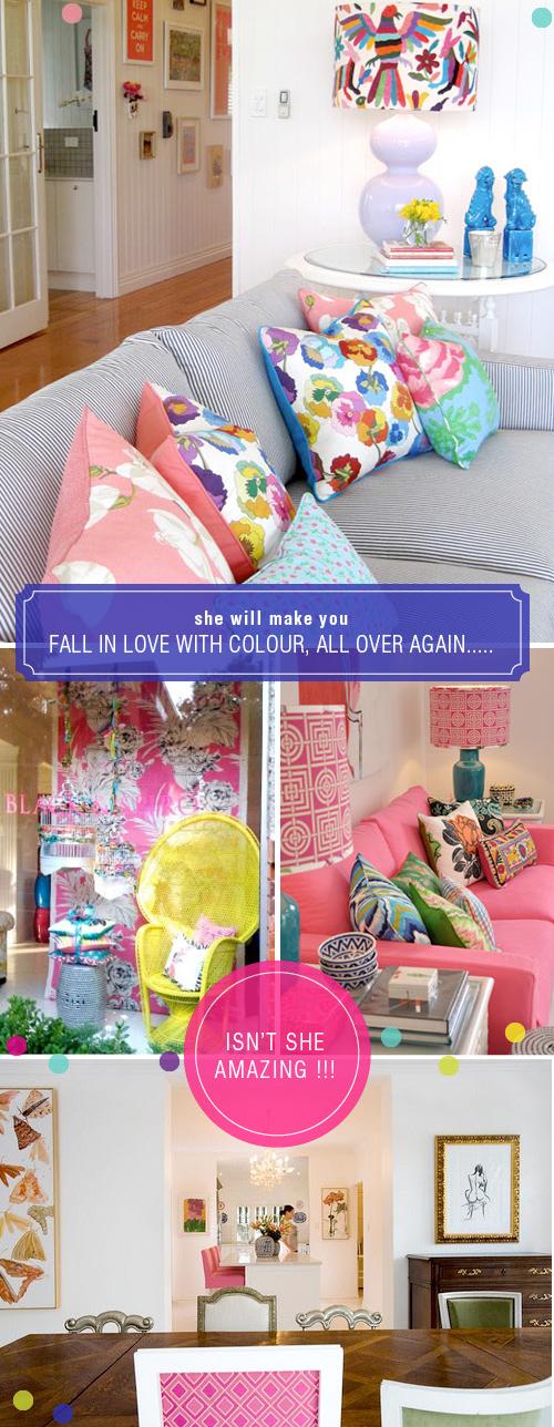 Designer Love | Anna Spiro | via colourfulcarla.com