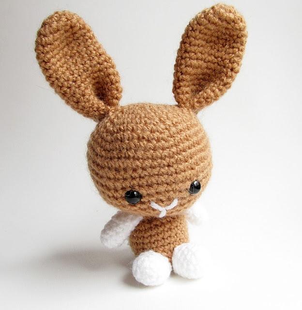 Amigurumi Bunny Ears : {Amigurumi Bunny and Teddy Bear} - Little Things Blogged