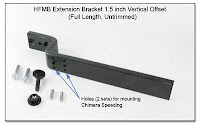 HFMB Extension Bracket, 1.5 inch Vertical Offset (Full Length, Untrimmed)