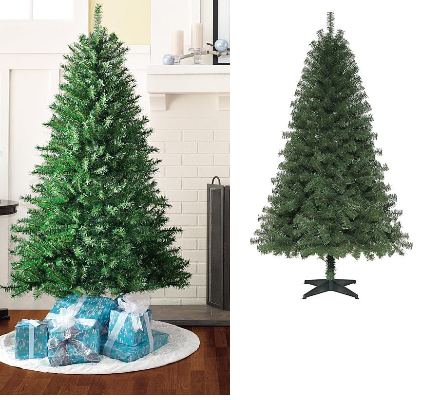 6 foot unlit 658 tips weston spruce artificial christmas tree 1999 reg 3999 free store pickup at kmart or free shipping with shop your way max - Kmart White Christmas Tree
