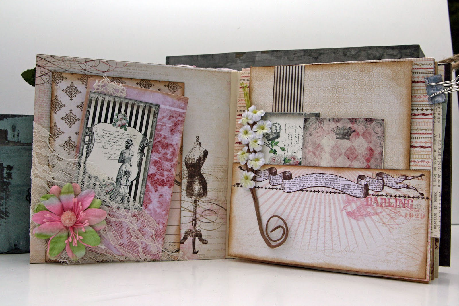 Make handmade photo albums home Leather Photo Albums by Blue Sky Papers