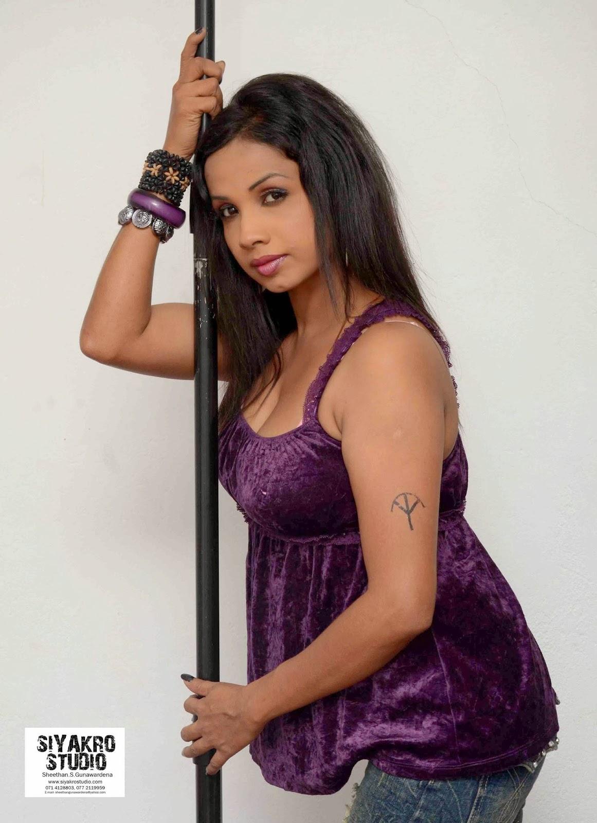 Manjula Sajeewani purple