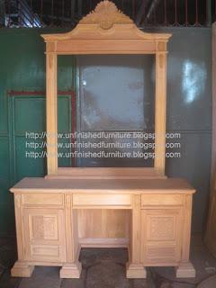 tolet ukir jepara tolet klasik furniture supplier mebel klasik mentah unfinished reproduction furniture mahoni