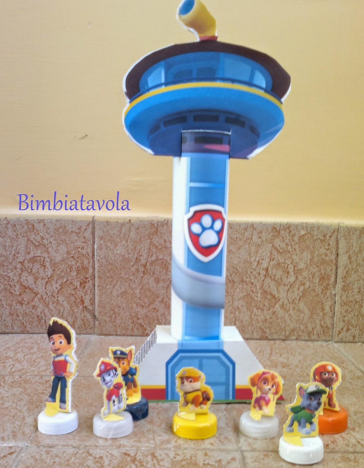 giocattoli paw patrol torre di controllo