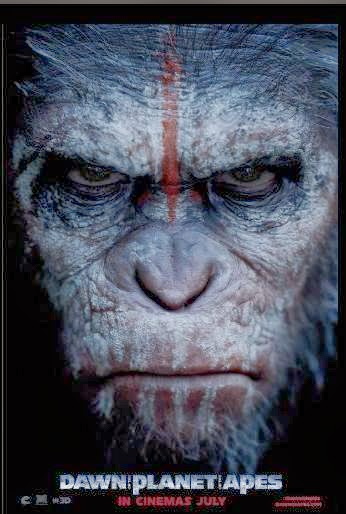 Dawn of the Planet of the Apes promo art, movie clips